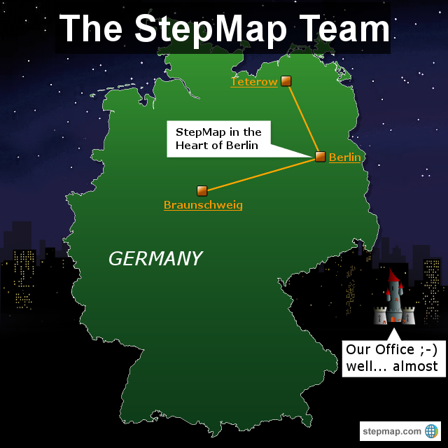 StepMap Team Map