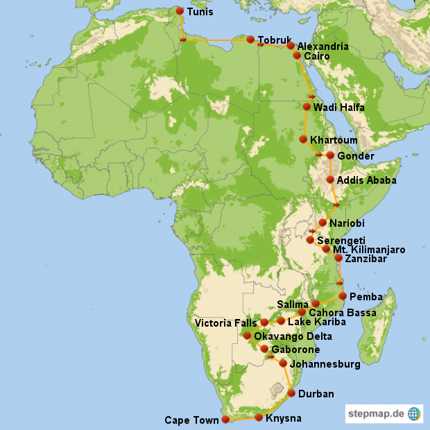 Africa Route