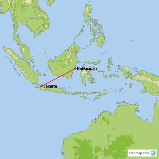 Jakarta-Balikpapan
