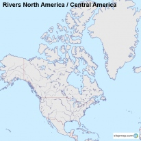 Rivers North America / Central America