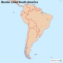 Border Lines South America