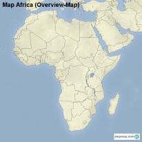 Map Africa (Overview-Map)