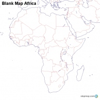 StepMap Maps For Africa Map - Blank map of africa