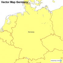 Vector Map Germany