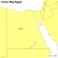 StepMap Maps For Egypt - Map of egypt vector
