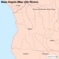 StepMap Maps For Angola - Angola map