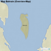 Map Bahrain (Overview-Map)