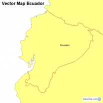 Vector Map Ecuador