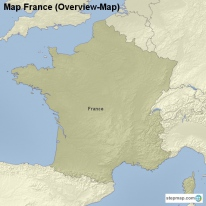 Map France (Overview-Map)