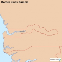 Border Lines Gambia