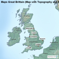 StepMap - Maps for Great Britain