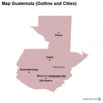 StepMap - Maps for Guatemala