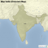 Map India (Overview-Map)