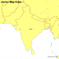 Vector Map India