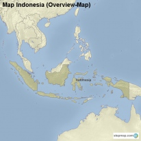 Map Indonesia (Overview-Map)