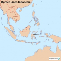 Border Lines Indonesia