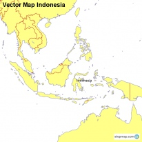 Vector Map Indonesia