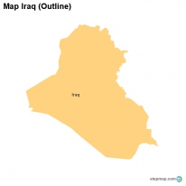 Map Iraq (Outline)