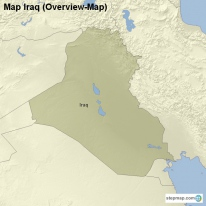 Map Iraq (Overview-Map)