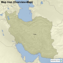 Map Iran (Overview-Map)
