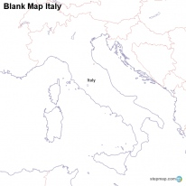 StepMap Maps For Italy - Ancient rome map blank