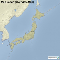 Map Japan (Overview-Map)