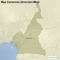 Map Cameroon (Overview-Map)