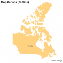 Map Canada (Outline)