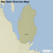 Map Qatar (Overview-Map)
