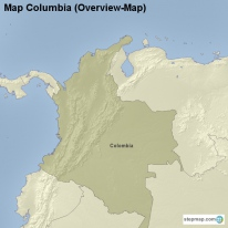 Map Columbia (Overview-Map)