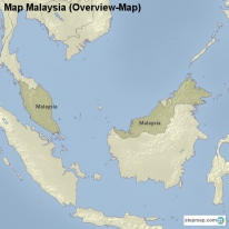 Map Malaysia (Overview-Map)