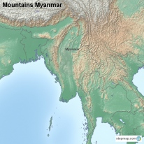 Mountains Myanmar