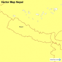 Vector Map Nepal