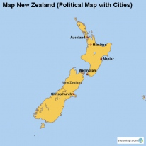 StepMap - Maps for New Zealand