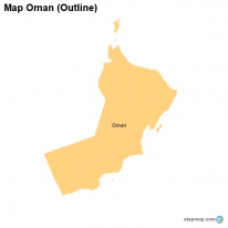 StepMap Maps For Oman - Oman map png