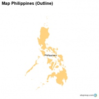 Map Philippines (Outline)