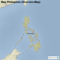 Map Philippines (Overview-Map)