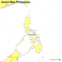 Vector Map Philippines