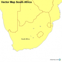 Vector Map South Africa