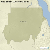 Map Sudan (Overview-Map)