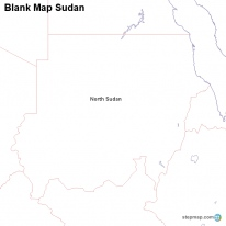 StepMap Maps For Sudan - Map of egypt and sudan