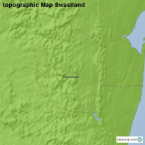 topographic Map Swasiland