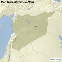 Map Syria (Overview-Map)