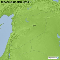 topographic Map Syria
