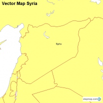 Vector Map Syria