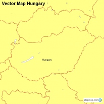 Vector Map Hungary