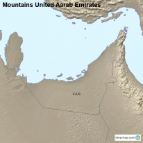 Mountains United Aarab Emirates
