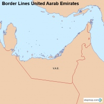 Border Lines United Aarab Emirates