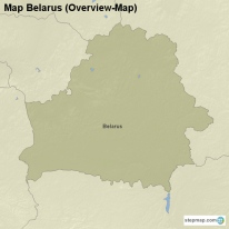 Map Belarus (Overview-Map)