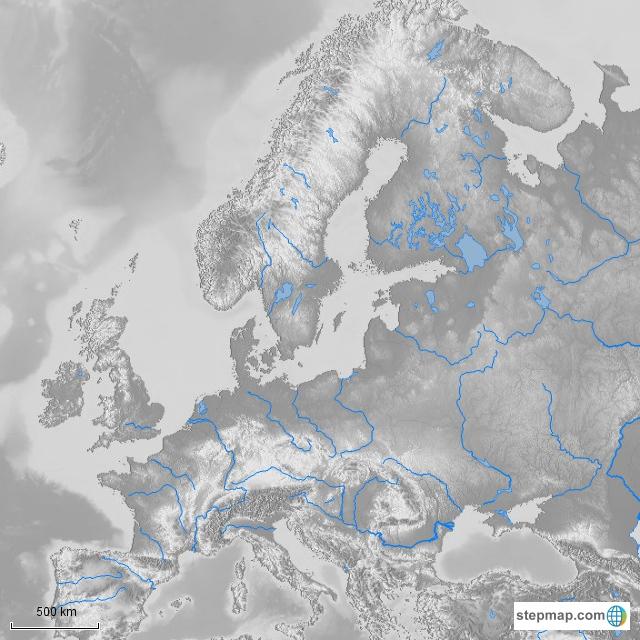 Flüsse in Europa